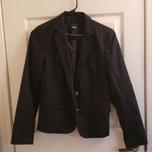 Women's Gap Size 4 Blazer Black